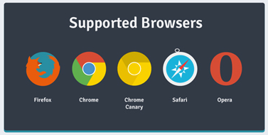 Supported Browsers