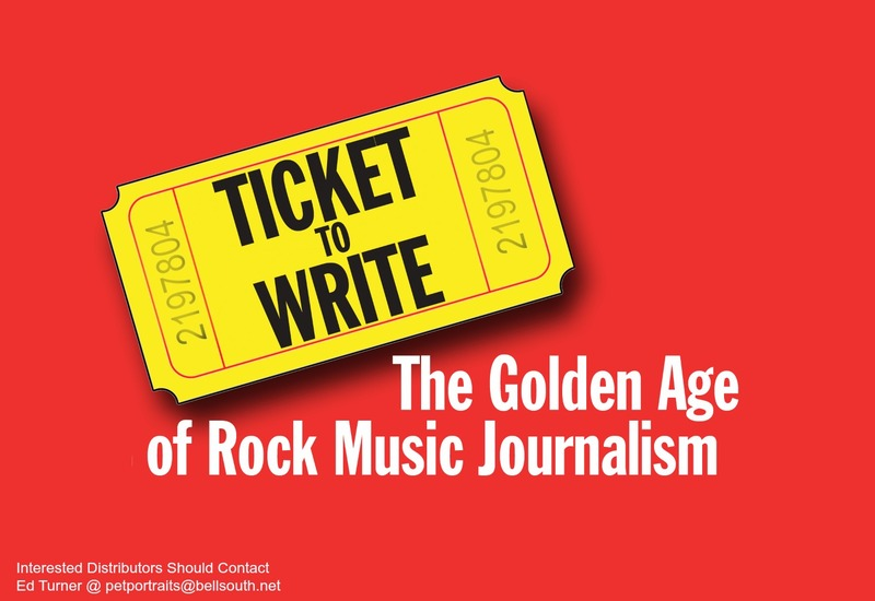 TICKET TO WRITE. The Golden Age of Rock Music Journalism