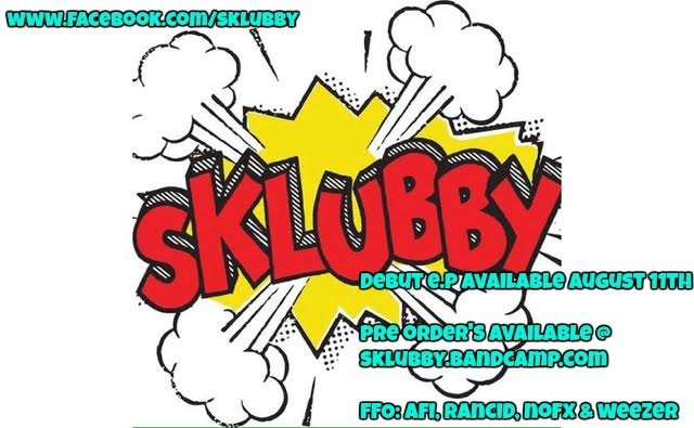 Sklubby –Debut Album Available August 11th