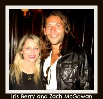 Iris Berry and Zach McGowan