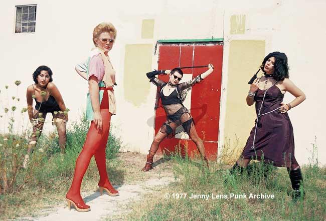 August 21, 1977, Alice Bag, Belinda, Hellin Killer and Pleasant Gehman