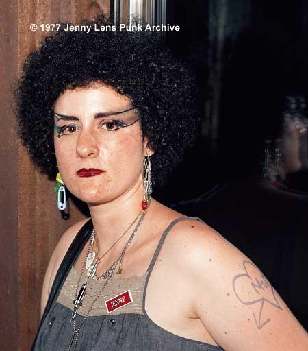 Jenny Lens at Denny's