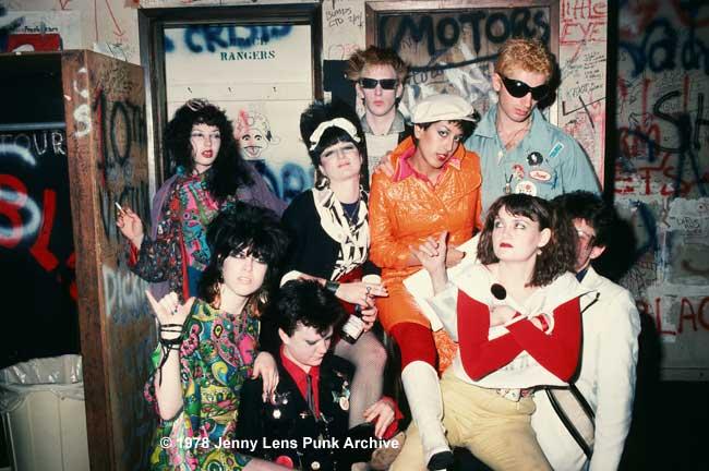 Randettes backstage