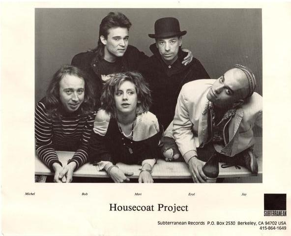 HousecoatProject publicity sheet