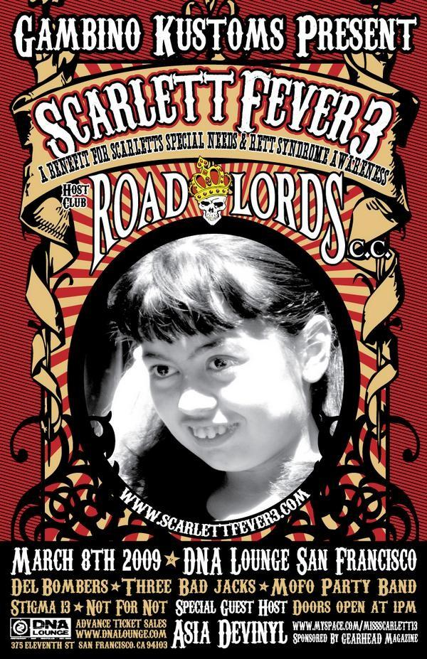 benefit for scarlett's special needs
