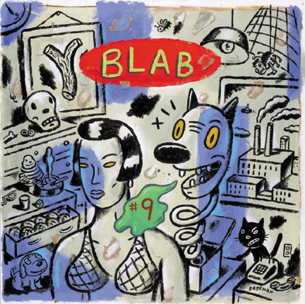 Gary Baseman Cover Blab! 9