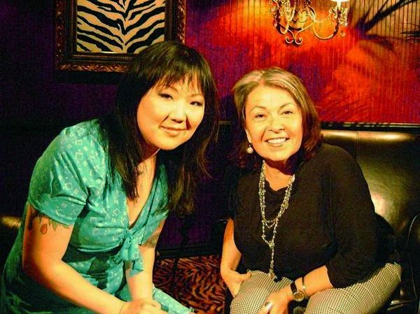 Margaret Cho with Roseanne