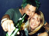 Susan Dyner with Charlies of UK Subs